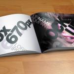 Catalog Mock-Up Template