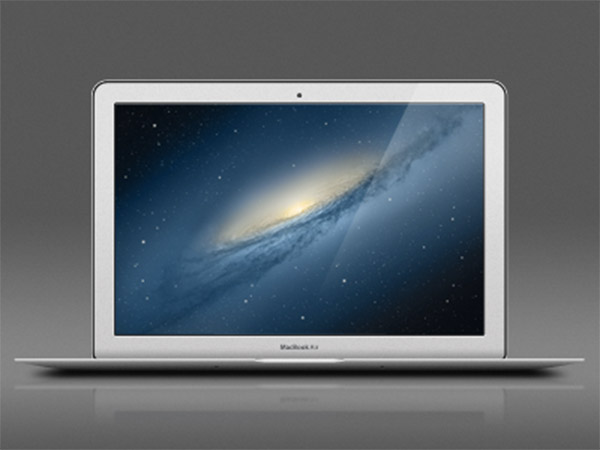 MacBook Air Fully Layered PSD