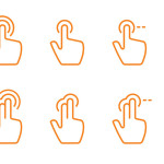 Free Hand Gesture Icons