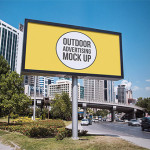 12 Outdoor Advertising Billboard Mockups